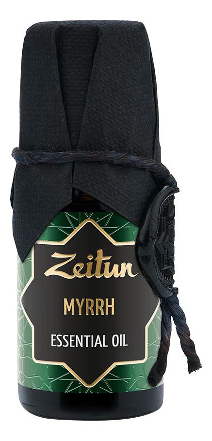 Эфирное масло Мирра Myrrh Essential Oil 10мл благовония масала мирра myrrh masala hem 0 05 кг 15 г