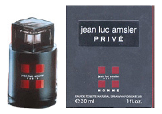 Jean Luc Amsler Prive Homme: туалетная вода 30мл jean luc rinaudo telepresence in training