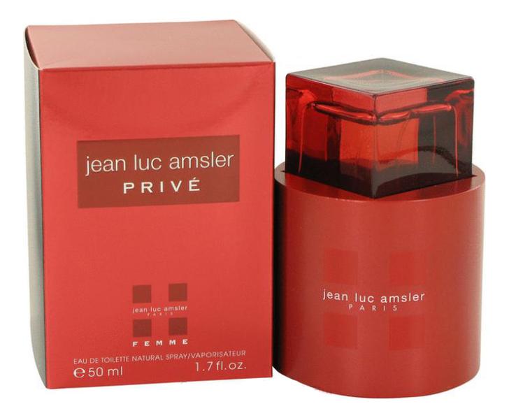 Jean Luc Amsler Prive Femme: туалетная вода 50мл jean luc rinaudo telepresence in training