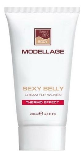 Крем для тела Плоский живот Modellage Sexy Belly Thermo Effect 200мл