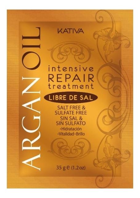 Восстанавливающий уход для волос с маслом арганы Argan Oil Intensive Repair Treatment: Уход 35г