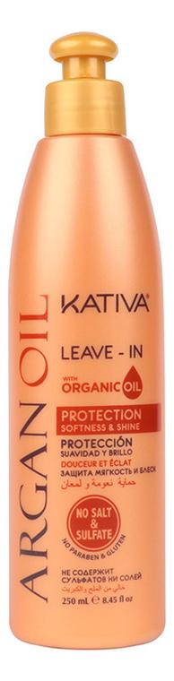 Оживляющий концентрат для волос с маслом Арганы Argan Oil Protection Leave-In 250мл