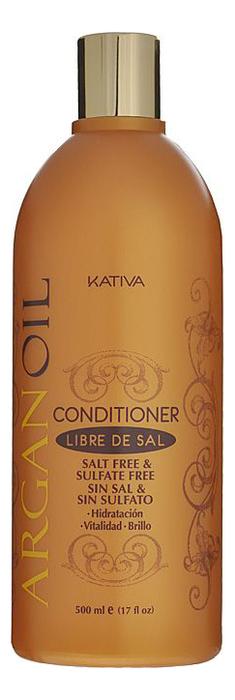 Увлажняющий кондиционер для волос с маслом арганы Argan Oil Protection Conditioner 500мл: Кондиционер 500мл kativa увлажняющий шампунь с маслом арганы argan oil 250 мл
