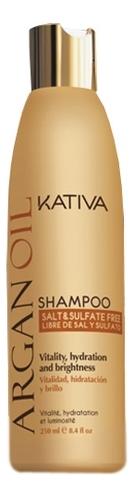 Увлажняющий шампунь с маслом арганы Argan Oil Protection Shampoo 250мл: Шампунь 250мл шампунь коллагеновый kativa
