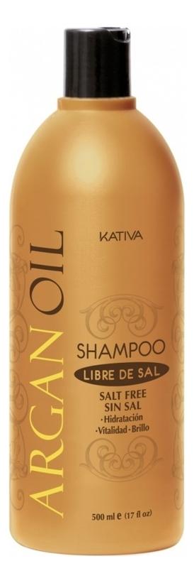 Увлажняющий шампунь с маслом арганы Argan Oil Protection Shampoo 500мл: Шампунь 500мл шампунь коллагеновый kativa