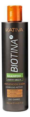 Шампунь против выпадения волос с биотином Biotina Shampoo 250мл шампунь коллагеновый kativa