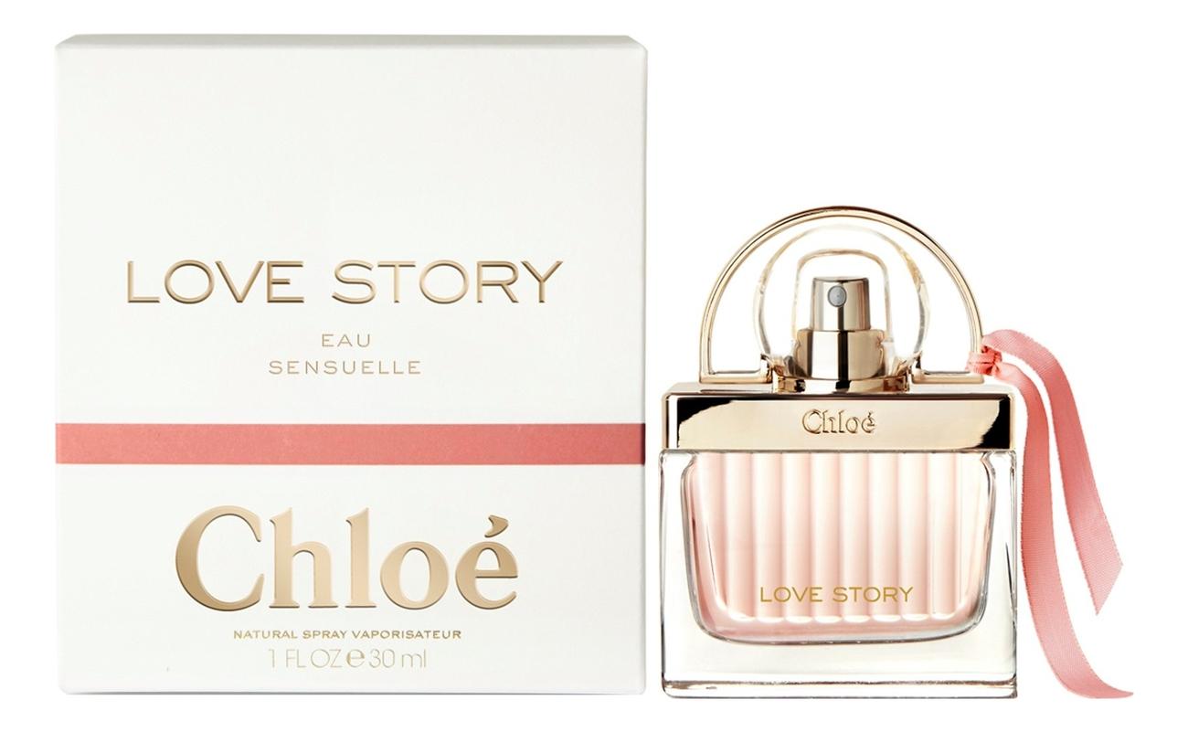 Chloe Love Story Eau Sensuelle : парфюмерная вода 30мл парфюмерная вода chloe love story eau sensuelle 30 мл