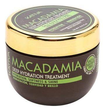 Интенсивно увлажняющая маска для волос Macadamia Deep Hydration Treatment: Маска 250мл увлажняющая маска авен