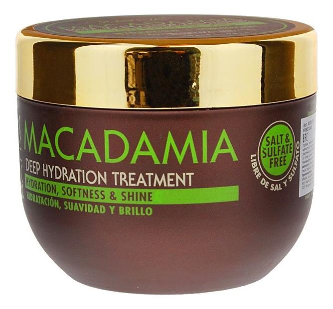 Интенсивно увлажняющая маска для волос Macadamia Deep Hydration Treatment: Маска 500мл увлажняющая маска авен