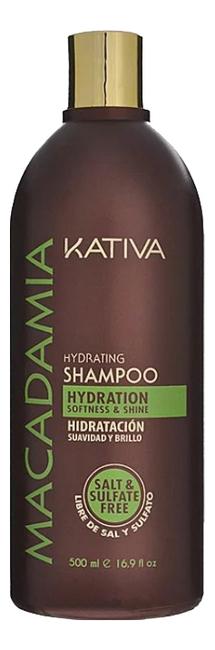 Увлажняющий шампунь для волос Macadamia Hydrating Shampoo: Шампунь 500мл шампунь kativa kativa ka009luasg31