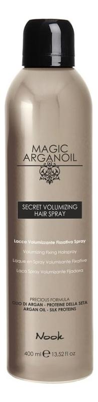 Лак для объемной укладки волос Магия арганы Magic Arganoil Secret Volumizing Hair Spray 400мл лак для волос extra control fragrance free hair spray 400мл