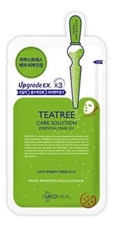 Маска для лица с маслом чайного дерева Teatree Care Solution Essential Mask 25мл mediheal zero solution skin chart teatre pair mask