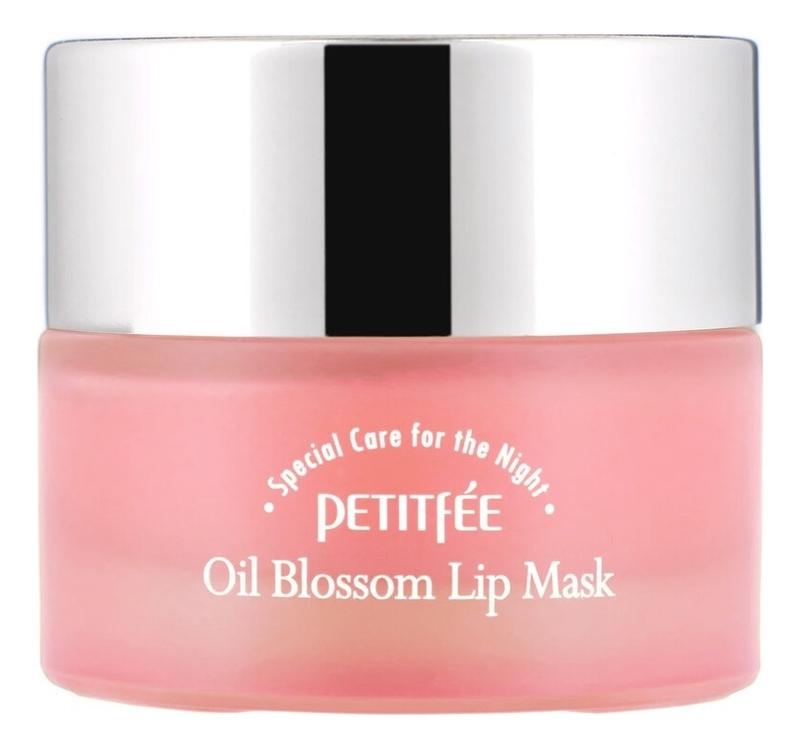 Маска-бальзам для губ с маслом камелии и витамином E Oil Blossom Lip Mask 15г