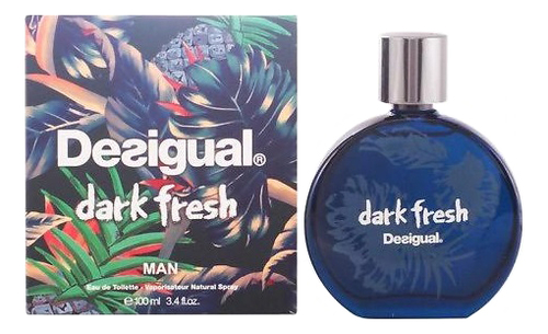 Desigual Dark Fresh: туалетная вода 100мл топ desigual 72b2yc1 1001