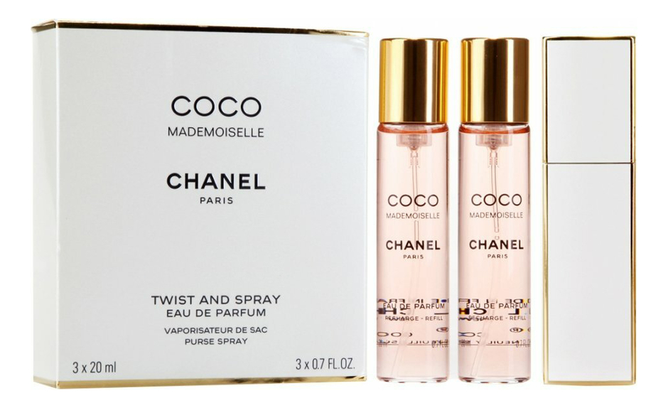 Chanel Coco Mademoiselle: парфюмерная вода 3*20мл