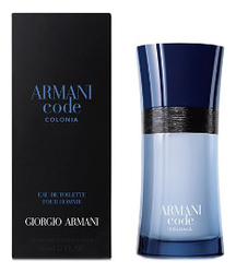 Armani Code Colonia: туалетная вода 50мл