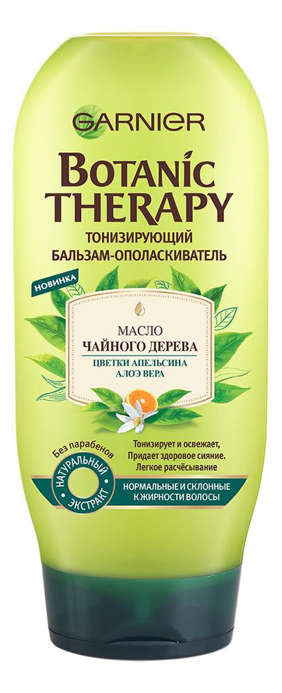 Тонизирующий бальзам-ополаскиватель для волос Масло чайного дерева Botanic Therapy 200мл garnier botanic therapy интенсивно питающий бальзам ополаскиватель