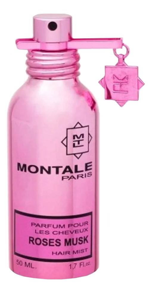 Montale RosE Elixir: парфюмерная вуаль для волос 50мл montale rose tea