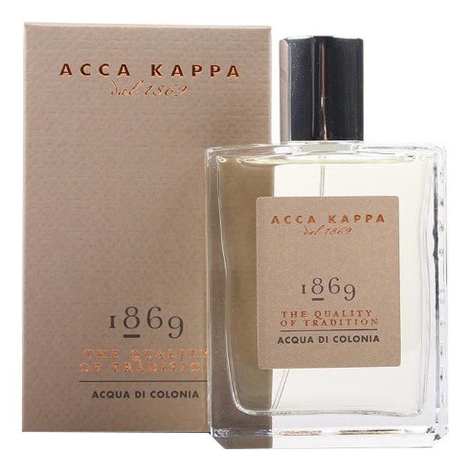 Acca Kappa 1869: одеколон 100мл шорты спортивные kappa kappa ka039emifkr1