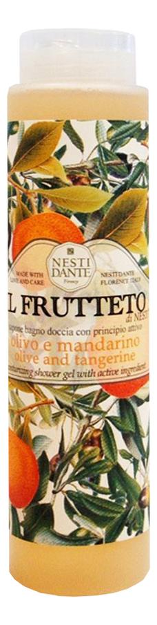Гель для душа Il Frutteto Olivo E Mandarino Olive & Tangerine 300мл (оливковое масло и мандарин) co e olive