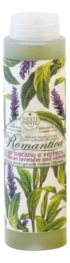 Гель для душа Romantica Wild Tuscan Lavender & Verbena 300мл (дикая тосканская лаванда и вербена) nesti dante тосканская лаванда гель для душа