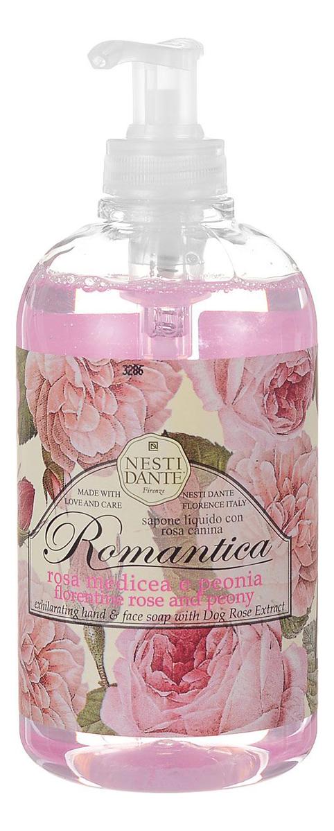 Жидкое мыло Romantica Florentine Rose & Peony 500мл (флорентийская роза и пион)