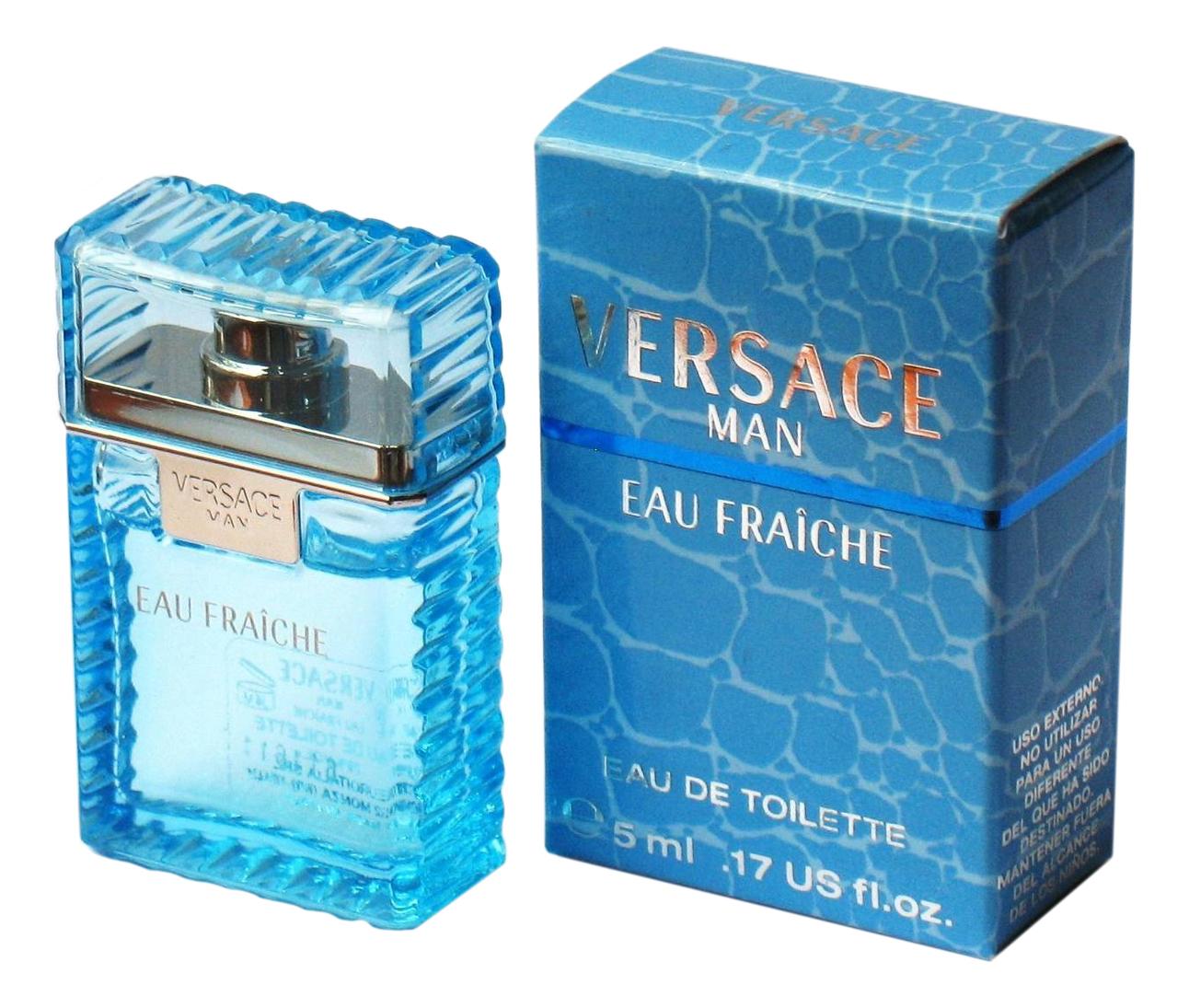 Фото - Versace Eau Fraiche Man: туалетная вода 5мл versace eau fraiche туалетная вода 30 мл