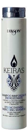 Укрепляющий шампунь против выпадения волос Keiras Shampoo Rinforzante Energizzante: Шампунь 250мл укрепляющий шампунь для роста волос care tec shampoo шампунь 250мл
