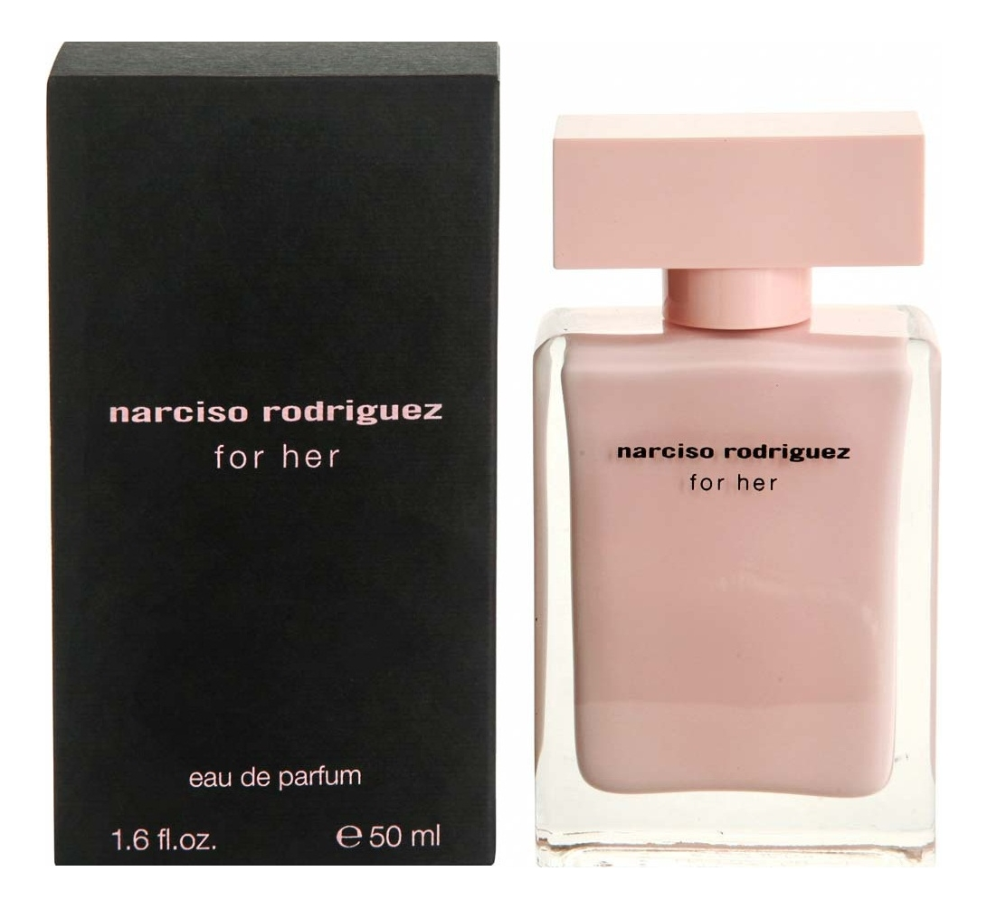 Narciso Rodriguez For Her Eau de Parfum: парфюмерная вода 50мл narciso rodriguez for her eau de parfum