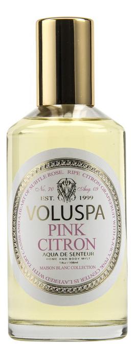 Ароматический спрей для дома и тела Pink Citron 108мл (розовый лимон)