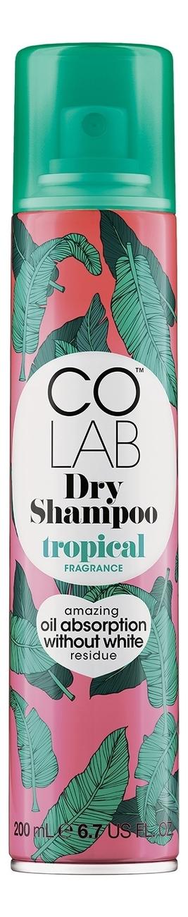 Сухой шампунь для волос прозрачный Tropical 200мл (тропический аромат)