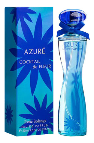 Rene Solange Cocktail de Fleur Azure : парфюмерная вода 50мл купальник rene santi rene santi re048ewiklg3