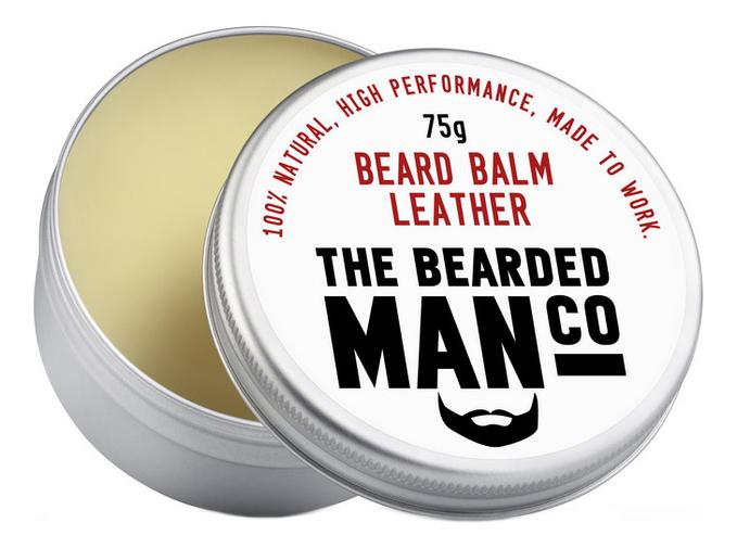 Бальзам для бороды с запахом дубленой кожи Beard Balm Leather: 75г