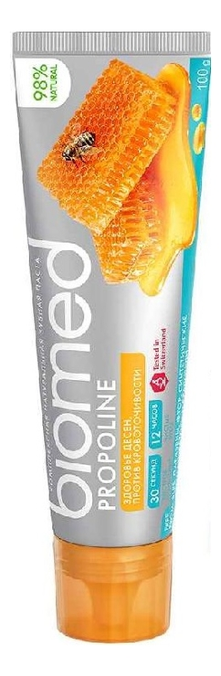 Зубная паста против кровоточивости десен Biomed Propoline 100г propoline aloe