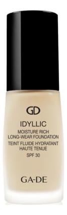 Тональный крем Idyllic Moisture Rich Long-Wear Foundation SPF30 30мл: 300 Warm Ivory