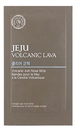 Патч для носа Jeju Volcanic Lava Ash Nose Strip 3г the face shop jeju volcanic lava aloe nose strip объем 7 шт