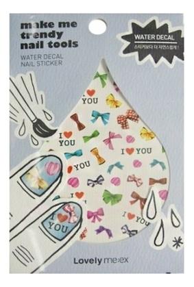 Наклейки для ногтей Lovely Me:ex Make Me Trendy Water Decal Sticker: 05 Love