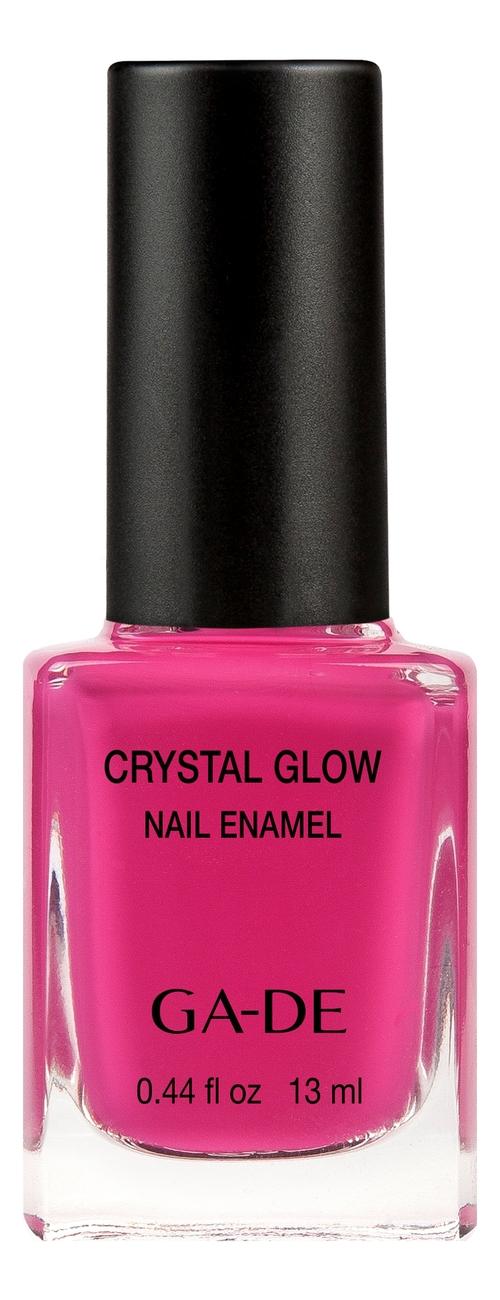 Лак для ногтей Crystal Glow Nail Enamel 13мл: 516 Velvety Fuchsia лак для ногтей ga de ga de ga022lwcdos0