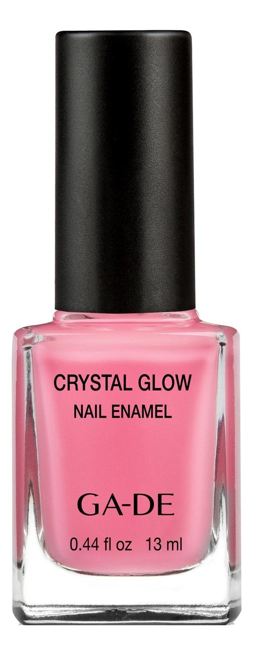 Лак для ногтей Crystal Glow Nail Enamel 13мл: 533 Neon Pink