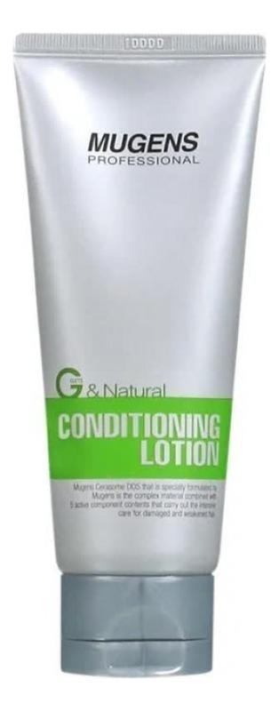 Бальзам для всех типов волос Mugens Conditioning Lotion: Бальзам 100г спасательный круг крем бальзам суставитал 100г др реттер