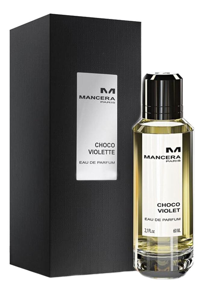 Mancera Choco Violette: парфюмерная вода 60мл burberry body парфюмерная вода 60мл