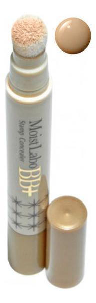 Точечный консилер со спонжем Moist Labo BB+ Stamp Concealer 28г: 03 Натуральная охра точечный консилер со спонжем moist labo bb stamp concealer 28г 01 натуральный бежевый