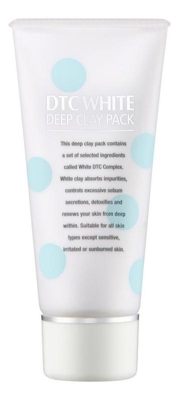 Маска-пленка для лица Dtc White Deep Clay Pack 80г пленка