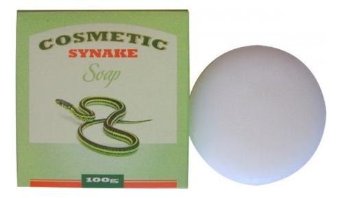 Косметическое мыло для умывания с пептидами Cosmetic Synake Soap 100г