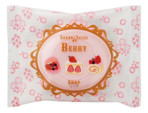 Мыло косметическое Ягоды Savon Sucre Berry Soap 30г мыло косметическое mon platin dsm171