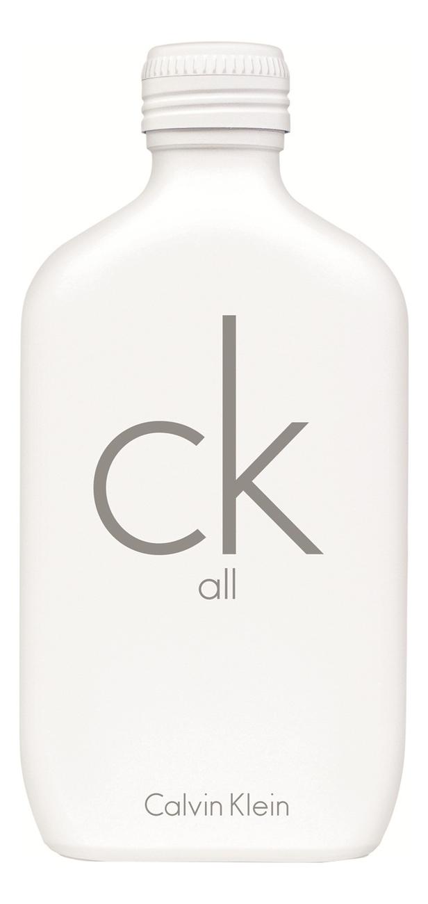 Calvin Klein CK All: туалетная вода 100мл тестер