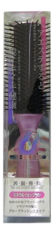Щетка массажная для сухих волос Mineralion Brush щетка массажная для сухих волос mineralion brush с изогнутой ручкой малая