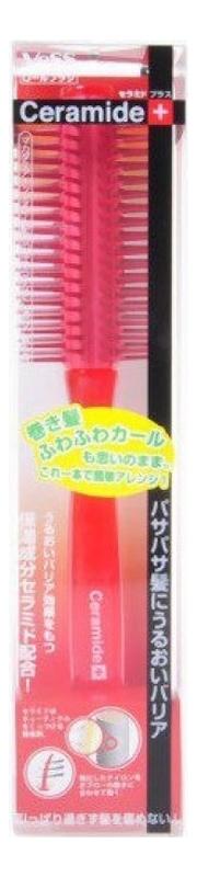 Щетка массажная для увлажнения и смягчения волос с церамидами Ceramide Brush (круглая) щетка массажная для увлажнения и смягчения волос с церамидами ceramide brush круглая