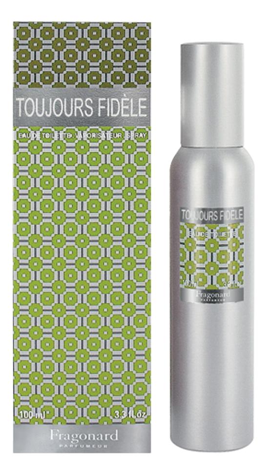 Fragonard Toujours Fidele: туалетная вода 100мл moschino toujours glamour