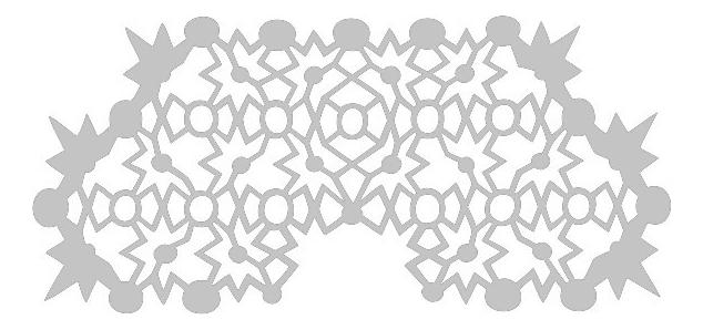 Наклейка для лица Hipstar Transfer Mask : White